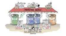 Dessine-moi l'éco : la protection sociale by Eco-Gestion-Droit